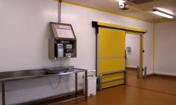 Salle de conditionnement des carcasses nues